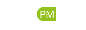 smartPM.solutions Logo for dark background 1500x537