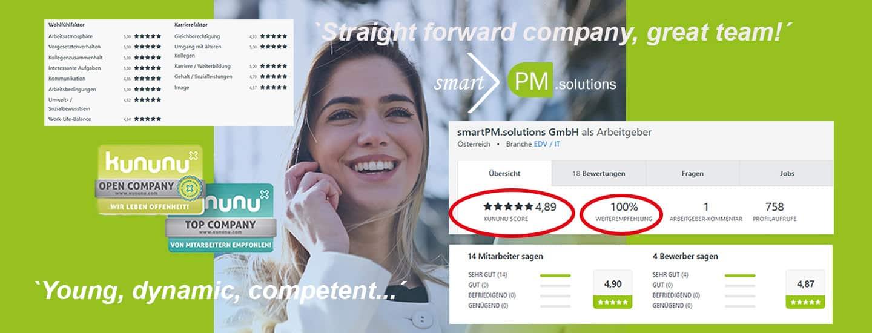 smartPM solutions Kununu Bewertung