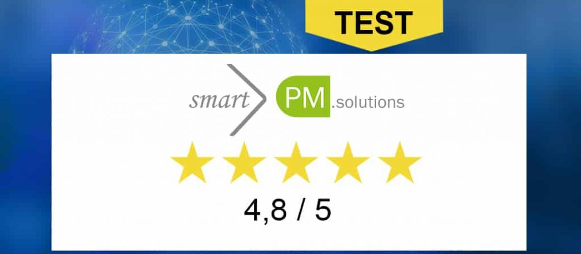 5 stars for smartPM.solutions CPM consulting